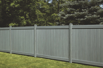 If you want a nice fence that will last a long time, will add beauty to your property, and is low maintenance, choose a vinyl fence. Vinyl fencing comes in a lot of different styles as well. The most popular vinyl fences are white, but there are other colors to choose from as well. Vinyl fences are a great privacy option for your property and it looks great too!