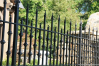 Ornamental fences are some of the nicest fence product types around. They add security and beauty all at the same time. Ornamental fences come in wrought iron, steel, and aluminum and adds curb appeal and value to your property. They popular around pools and front yards where a boundary is needed, but that you can also see through.